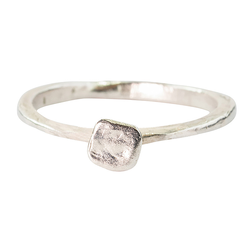Ring Square Silver 925 little mold