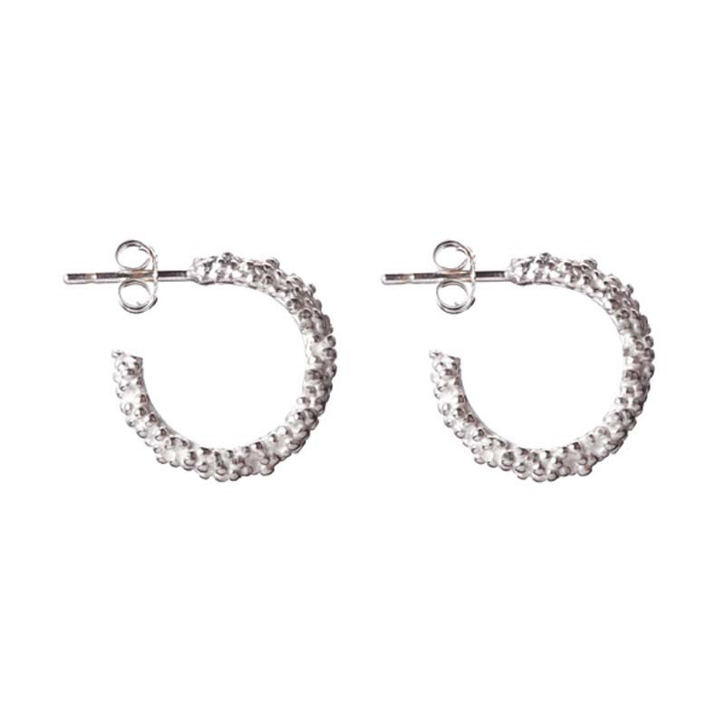 Earrings Hoop Billes Sterling Silver