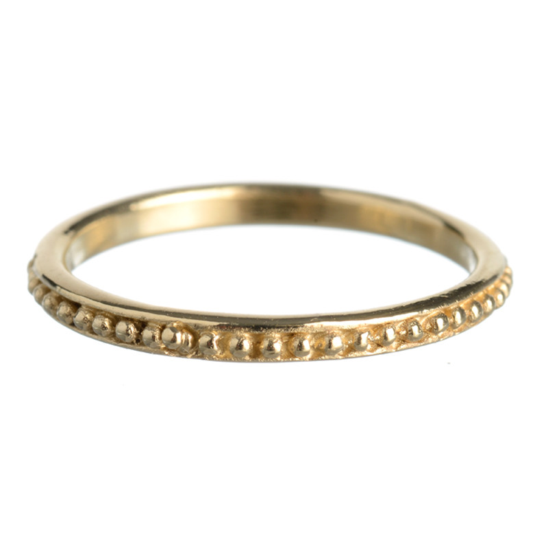 Ring Grenaille Light Gold Vermeil