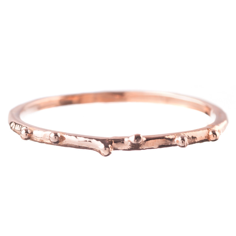 Ring Brindilles Fine Sprinkled 18K Pink Gold