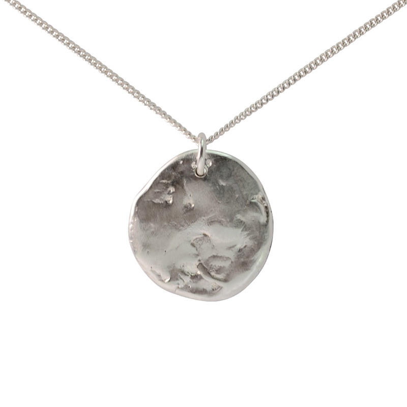 Necklace Moon Sterling Silver Large