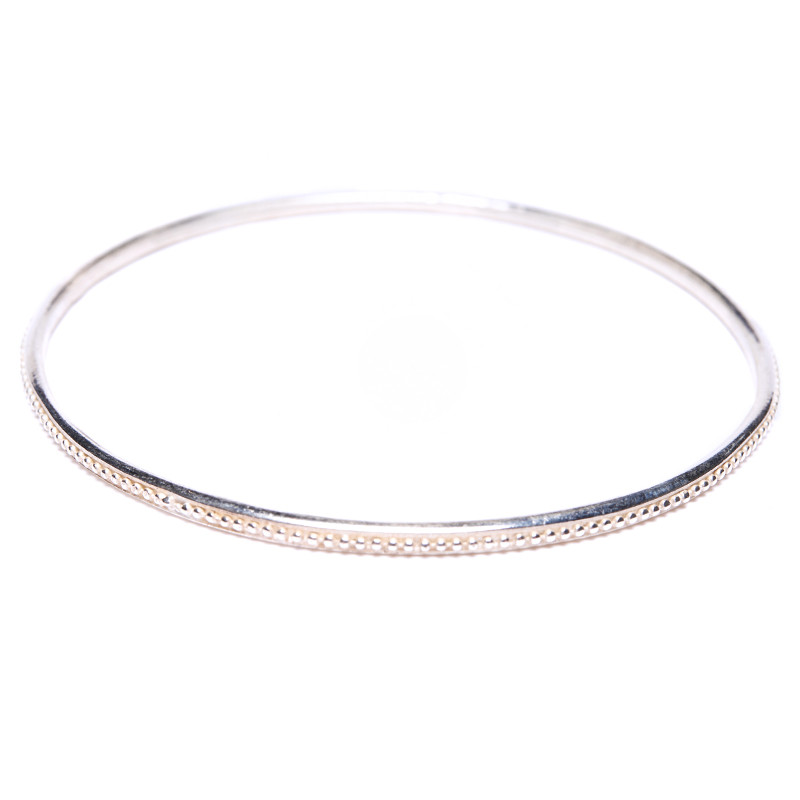 Bangle Bracelet Grenaille Sterling Silver