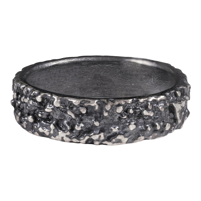 Ring Billes Mixed Silver 925 Oxidized