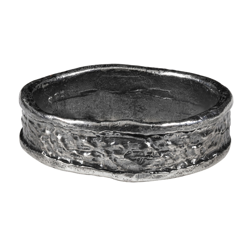 Ring Magma Oxidized Silver
