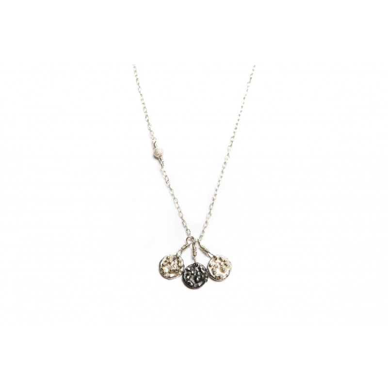 Sterling Silver Blossom Long Necklace