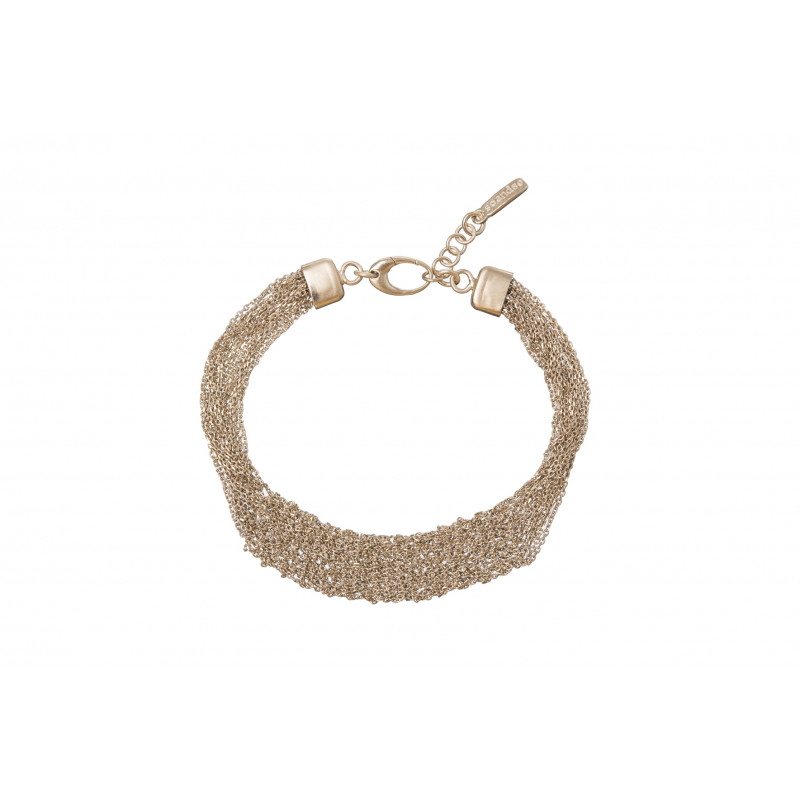 Gold Plated Sterling Silver Marco Polo Bracelet